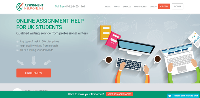Assignmenthelponline.co.uk review – Rated 3.2/10