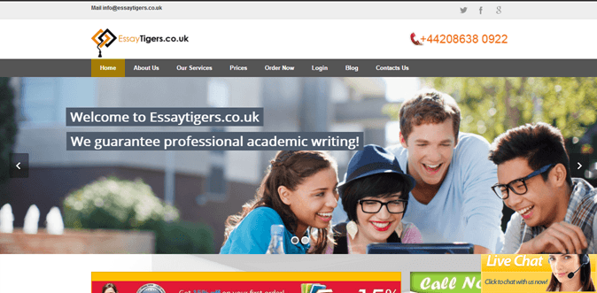 Essaytigers.co.uk review – Rated 2.8/10
