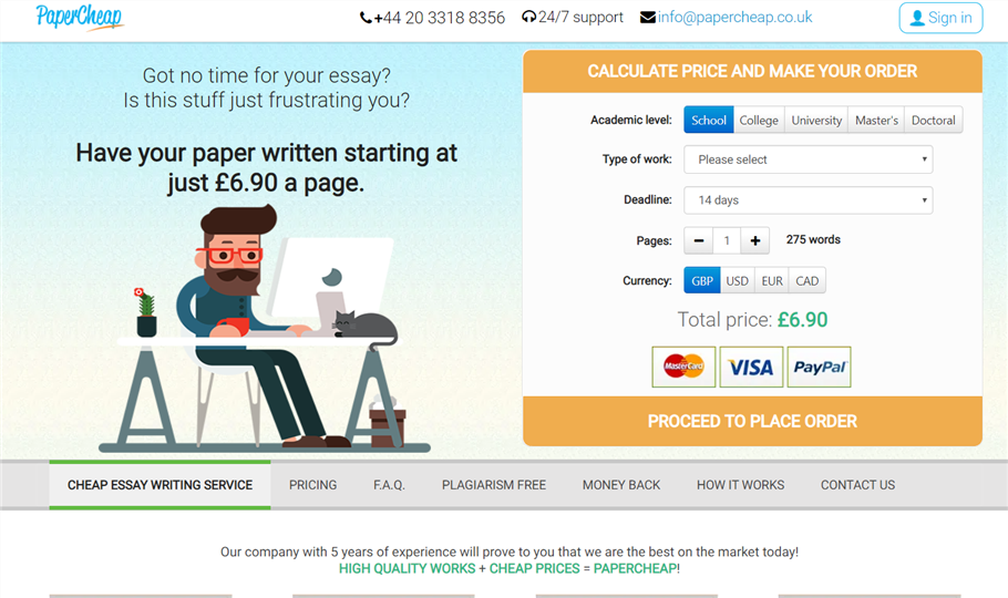 Papercheap.co.uk review – Rated 3.5/10