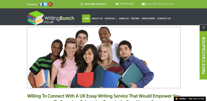 Writingbunch.co.uk review – Rated 2.9/10