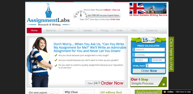 Assignmentlabs.co.uk review – Rated 3.6/10