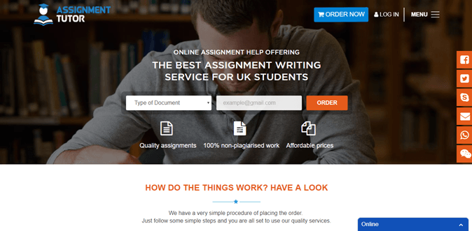 Assignmenttutor.co.uk review – Rated 3.9/10