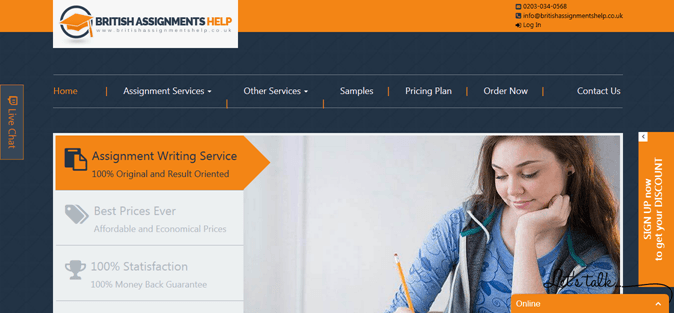 Britishassignmentshelp.co.uk review – Rated 3.5/10