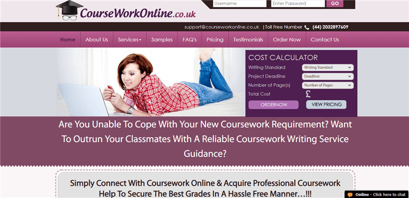 Courseworkonline.co.uk review – Rated 3.4/10