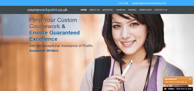 Courseworkpoint.co.uk review – Rated 2.3/10