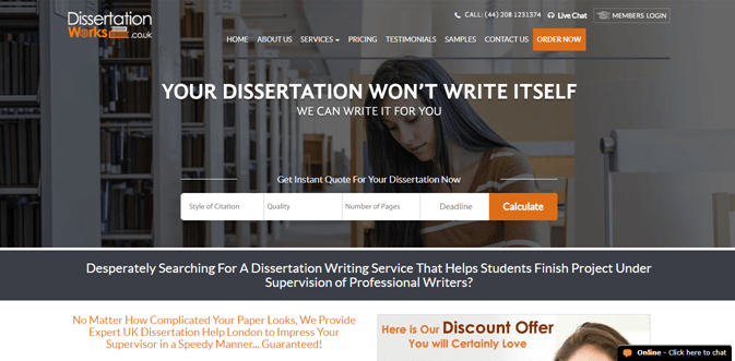Dissertationworks.co.uk review – Rated 4.1/10
