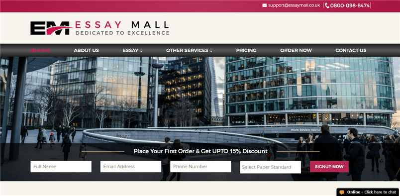 Essaymall.co.uk review – Rated 3.7/10