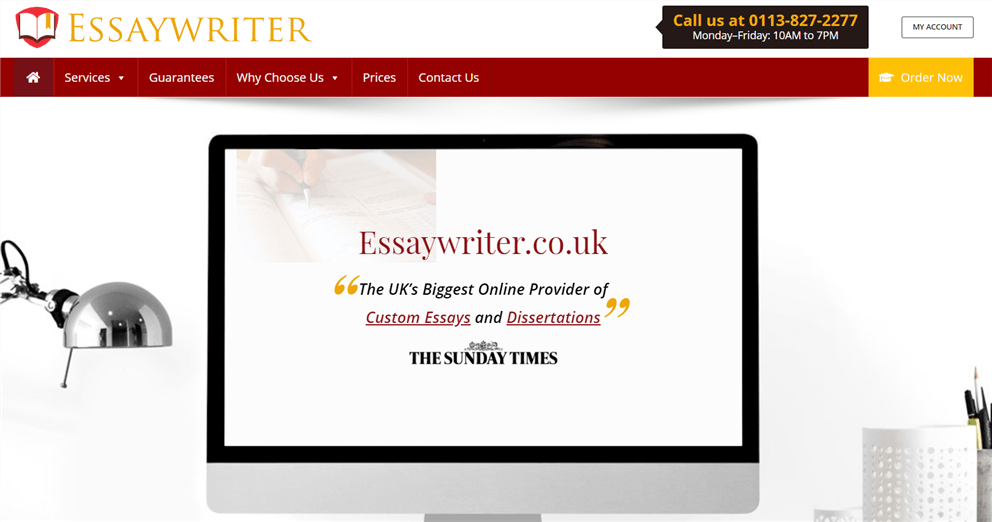 Essaywriter.co.uk review – Rated 3.3/10