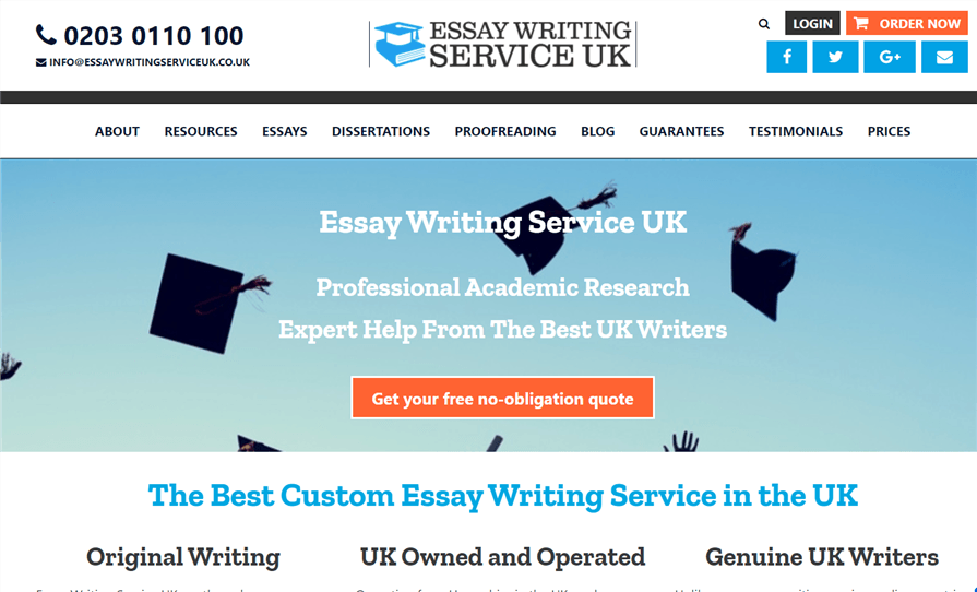 Uk essay writing service review