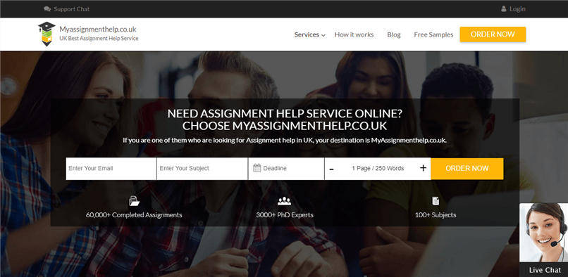 Myassignmenthelp.co.uk review – Rated 4.9/10