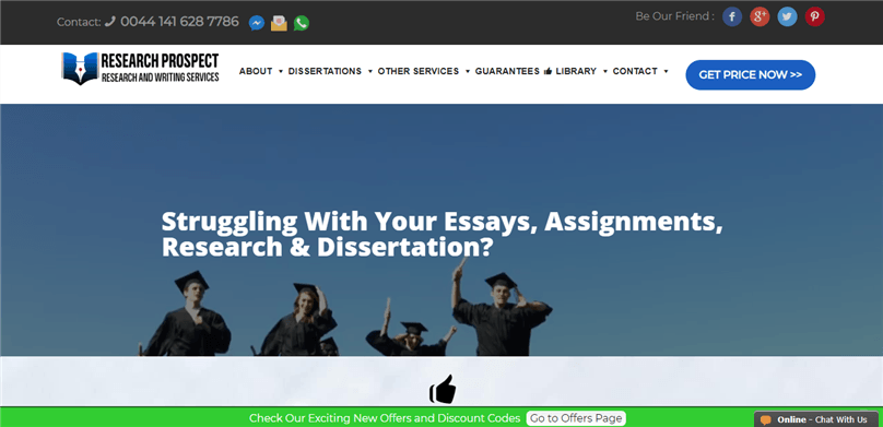 #1 rated research writing company