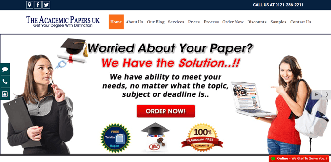 Theacademicpapers.co.uk review – Rated 1.2/10