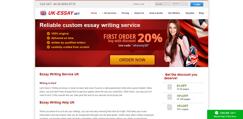 Uk-essay.net review – Rated 4.1/10