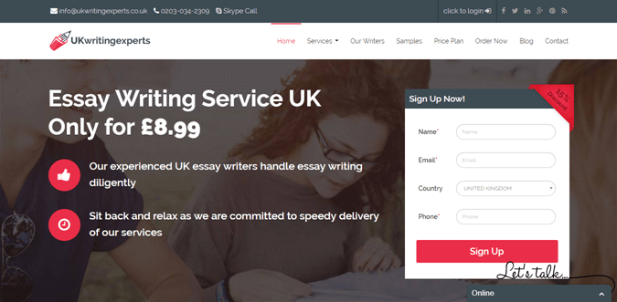 Ukwritingexperts.co.uk review – Rated 4.7/10